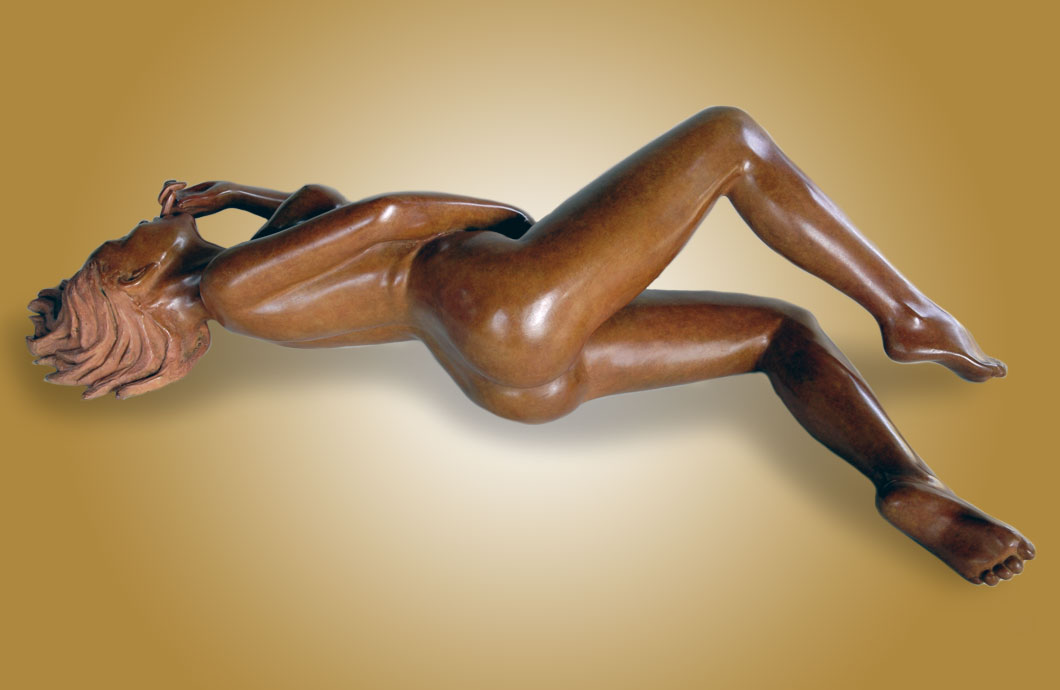 Toccata sculpture en bronze