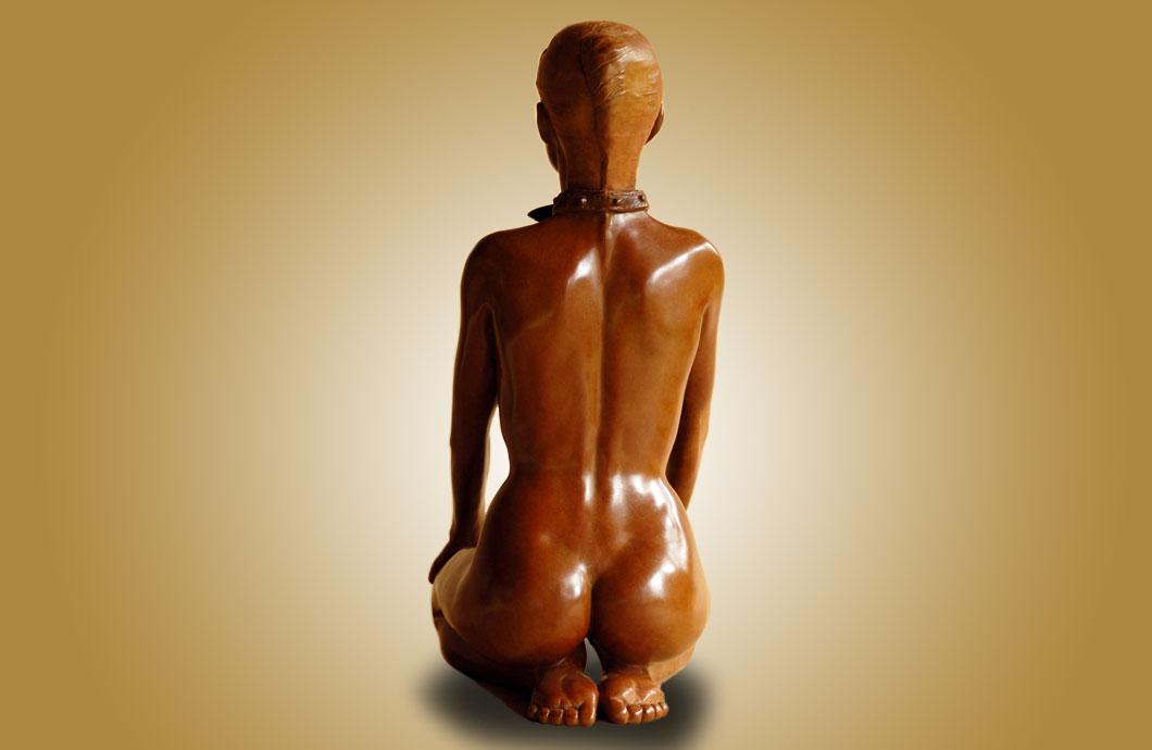 Fais La Belle sculpture en bronze