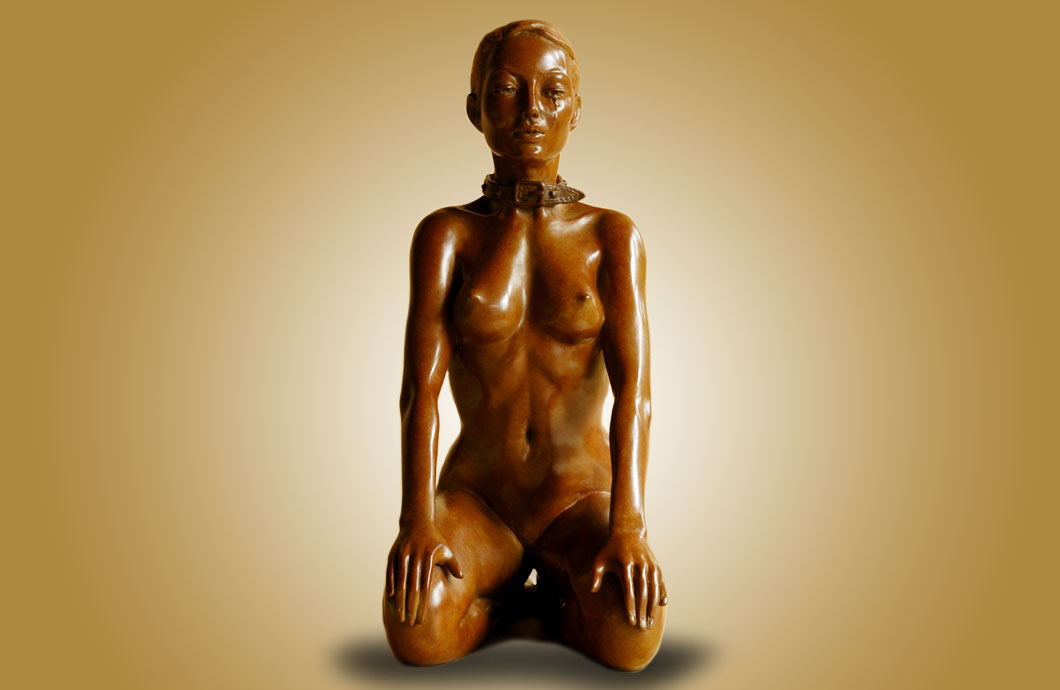 Fais La Belle sculpture en bronze