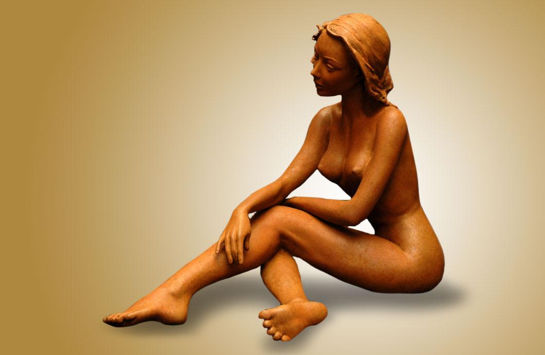 L'Automne sculpture en bronze