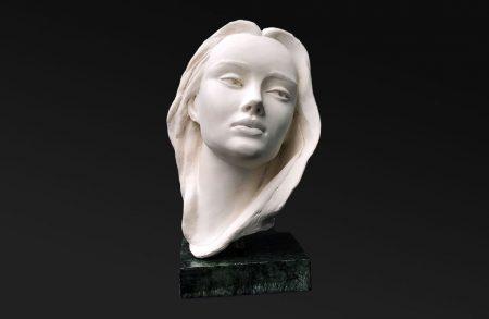 Sculpture en bronze - Mélancolia