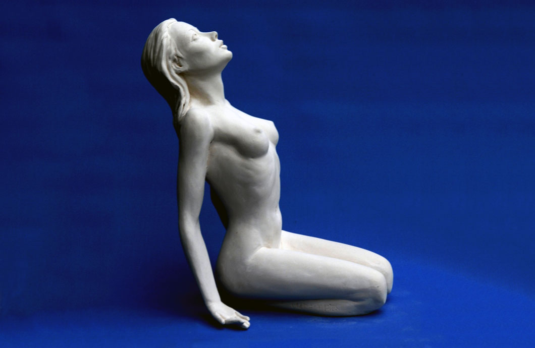 Ailleurs sculpture en bronze