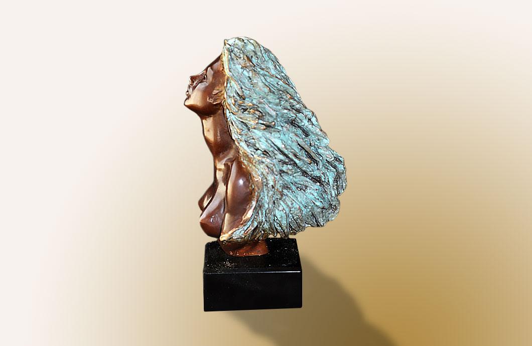 sculpture en bronze