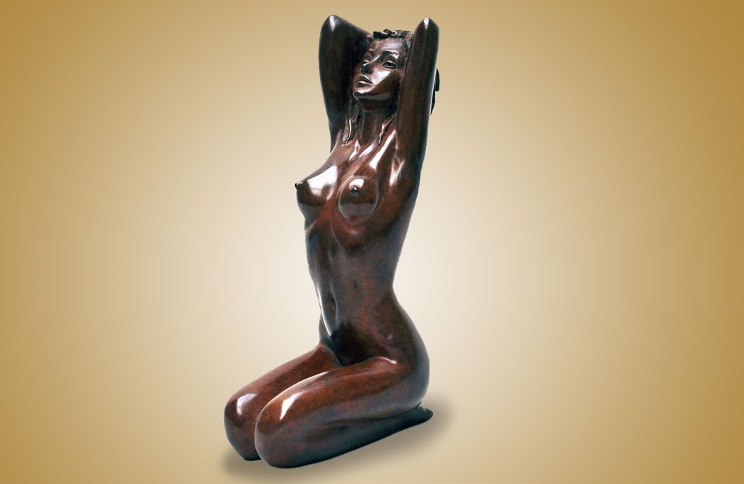 Baby Doll sculpture en bronze