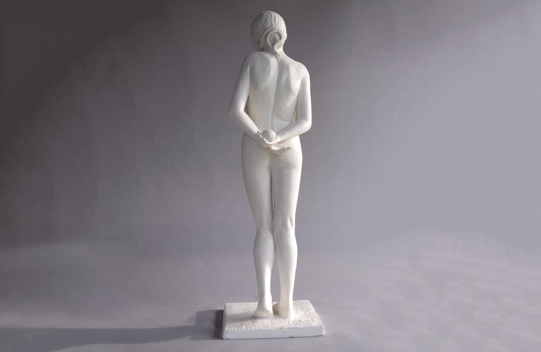 L'Envie (Eve Tentatrice) sculpture en bronze