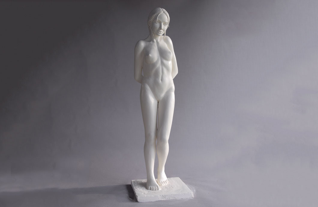 L'Envie (Eve Tentatrice) sculpture en bronze