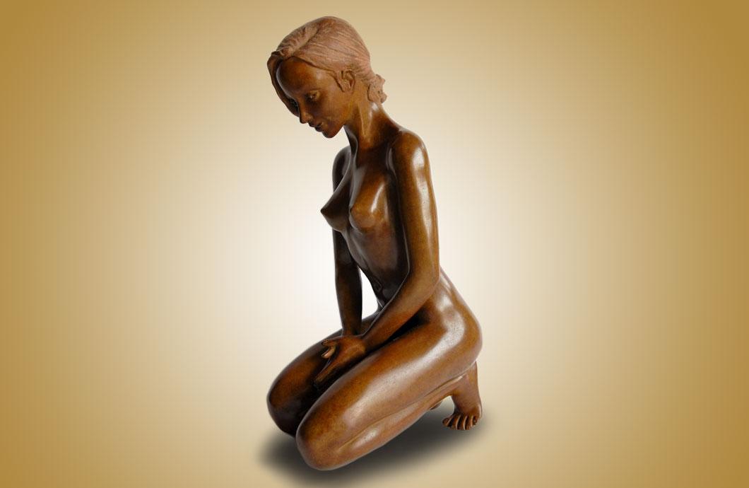 La Luxure sculpture en bronze
